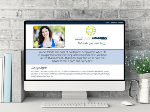 Inner Buzz Coaching Created by Web Designer & Mentor, Teresa Schlup