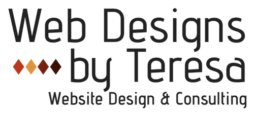 Web Designs by Teresa square logo small