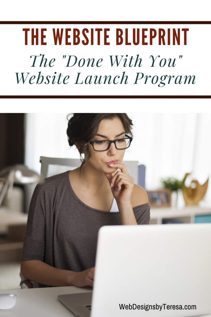 The Website Blueprint - Done with YOU Website Launch Program